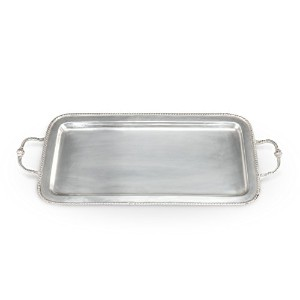 Twine ChateauピューターServing Tray、メタリック、