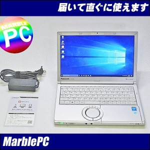 中古パソコン Win10 Panasonic Let's note CF-SX3i5-4300U 1.9G(第四世代)/MEM4G/HDD320G/マルチWLAN/Bluetooth/WebCam...