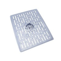 Rubbermaid Evolution Antimicrobial Sink Mat, Large, Clear