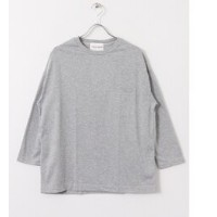 UR Vincent et Mireille 3/4 CREW NECK BIG T【アーバンリサーチ/URBAN RESEARCH メンズ Tシャツ・カットソー MD.GREY ルミネ...