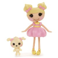 ララループシー ソフトドール Lalaloopsy Mini Doll, Dollop Light-N-Fluffy