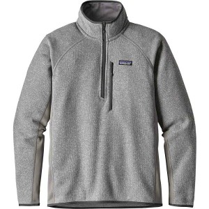 パタゴニア Patagonia メンズ アウター ジャケット【Performance Better Sweater 1/4-Zip Fleece Jacket】Feather Grey
