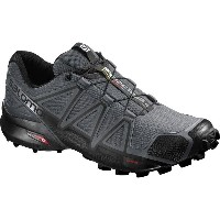 サロモン Salomon メンズ ランニング シューズ・靴【Speedcross 4 Trail Running Shoes】Dark Cloud/Black/Pearl Grey