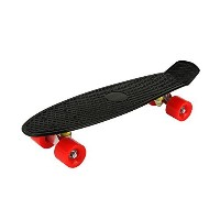 "Zoom Board? 22"" Banana Skate Board - Retro Skate Board (Black) [並行輸入品]"