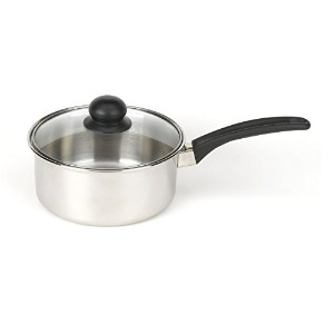 Good Cook 2-Quart Stainless Steel Sauce Pan With Lid [並行輸入品]