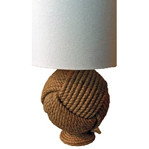 MG D?cor Organic Chinese Knotted Table Lamp [並行輸入品]