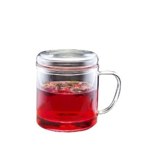 Yama Glass 10oz One Cup Tea Infuser [並行輸入品]