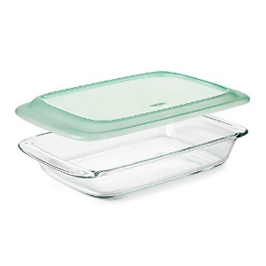 OXO Good Grips Freezer-to-Oven Safe Glass Baking Dish with Lid, 9 x 13' [並行輸入品]