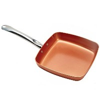 Copper Chef 9.5 Square Fry Pan by Copper Chef