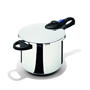 Fresco Pressure Cooker, 8 quart, Stainless Steel [並行輸入品]