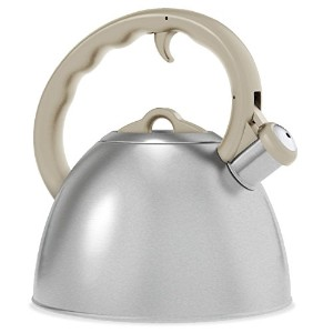 Remedy Metro 1.5 quart Tea Kettle, Cream [並行輸入品]