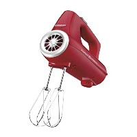 Cuisinart CHM-3RFR 3-Speed Electronic Hand Mixer, Red (Refurbished) [並行輸入品]
