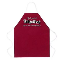 Attitude Apron What Part of Tailgating Apron, Maroon, One Size Fits Most [並行輸入品]
