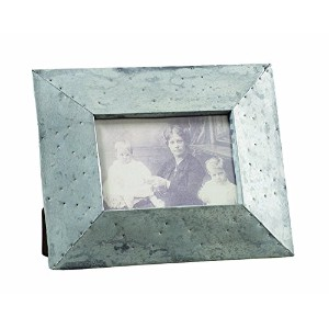 Creative Co-op Cottage Chic Metal Photo Frame, 5 by 7-Inch [並行輸入品]