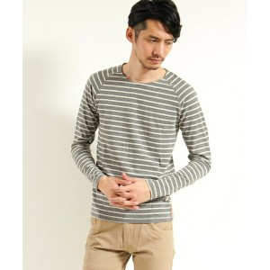 【Nudie Jeans(ヌーディージーンズ)】OTTO RAGLAN FRENCH STRIPE カットソー