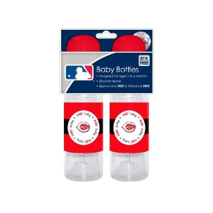 MLB Cincinnati Reds Baby Bottles, by Baby Fanatic