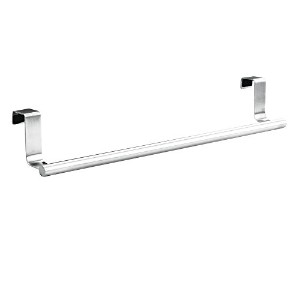 InterDesign Forma Over-the-Cabinet Bathroom Hand Towel Bar Holder - 14, Brushed Stainless Steel by...