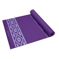 GAIAM(ガイアム ヨガマット)Premium Taos Alignment Printed Yoga Mat 5mm