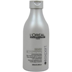 Loreal L?real Expert Silver 250ml For Grey and White Hair Shampoo [並行輸入品]