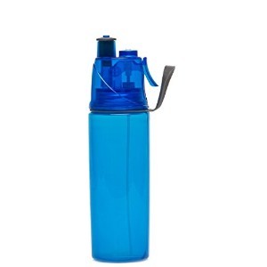 O2COOL Mist 'N Sip 20 Oz Hydration Bottle in BLUE by O2 Cool [並行輸入品]