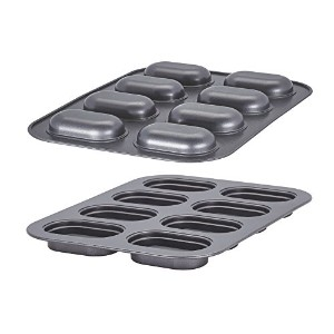 Baker's Advantage Fillables 2-Piece Non-Stick Mini Loaf Pan by Baker's Advantage
