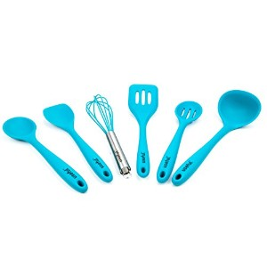 Useful. UH-SU194 Premium Kitchen Utensil Set. Quality Silicone Cooking Set of 6. Hygienic, Durable,...