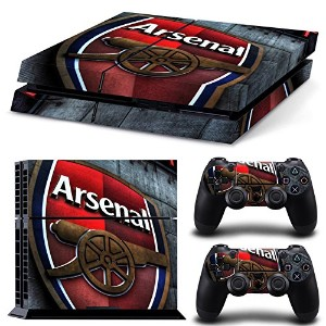 FriendlyTomato PS4専用 Skin プレイステーション4用スキンシール - Soccer Football - PlayStation 4 Vinyl Futbol Manu