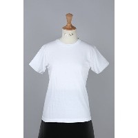 Crew neck Tee white (H5110) HANES -Women-(ヘインズ)