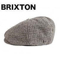 Brixton Brood Snap Hat Cap Black/Tan M ハンチング