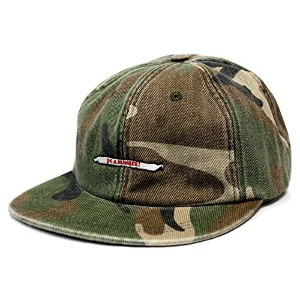 RWCHE(ローチ) DO A NUMBER CAP キャップ (Camouflage woodland)