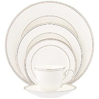 Lenox Federal Platinum Bone China 5-Piece Place Setting, Service for 1 by Lenox