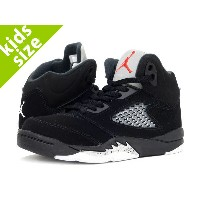 【キッズサイズ】【16-22cm】 NIKE AIR JORDAN 5 RETRO OG BP ナイキ エア ジョーダン 5 レトロ OG BP BLACK/FIRE RED/METALLIC...