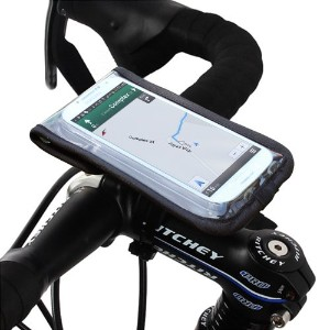 Satechi サテチ RideMate 自転車用スマートフォンホルダー (iPhone 6, 5S, 5C, 5, 4S, 4, BlackBerry Torch, HTC One, HTC...