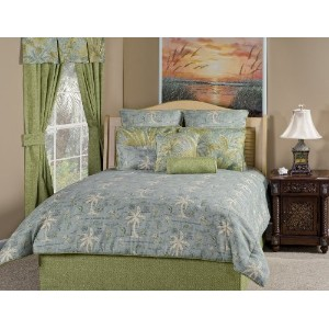 Victor Mill Island Song Surf Comforter Set, Queen by Victor Mill [並行輸入品]