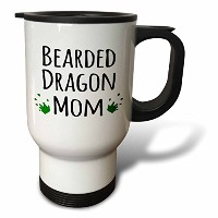 InspirationzStoreペットデザイン–Bearded Dragon Mom–For Female Lizard and Reptile Enthusiasts and...