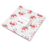 Miss Scarlet Layer Cake, 42 - 10 Precut Fabric Quilt Squares By Minick & Simpson for Moda by moda