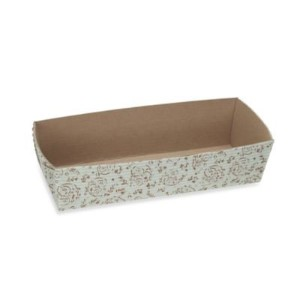 Welcome HomeブラウンBlossom長方形Loaf Baking Pans