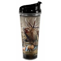 American Expedition野生生物コラージュ24oz Tall Tumblers TB24-304