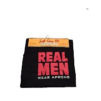 """Just Say It 。エプロン。"""" Real Men Wearエプロン"""""""