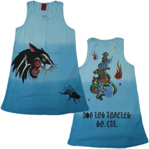 A&G TANK TOP MEN'S [IGUANA DAGGER]リブタンクトップ