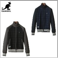 カンゴール KANGOL メンズ ALL RANGE TRACK JK CHECK KASM-0075 53KA-7SW01100M あす楽