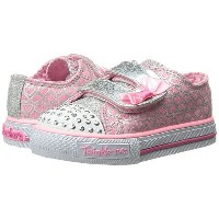 kid) (toddler little スケッチャーズ skechers kids shuffles 10576n lights