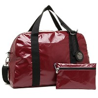 jack gomme(ジャックゴム)ジャックゴム バッグ JACK GOMME 1141 LIGHT BAGAGE WALLI WEEK END BAG ショルダーバッグ RUBY [並行輸入品]