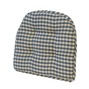 Klear Vu GripperティーポットChairpad 17-Inch Length by 16-Inch Width by 2-Inch Height ブルー 41402-14