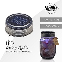 End of Season Sale 。Smiths Mason Solar Powered Night Lite–Jar Included–Great for Kids Niteライト。