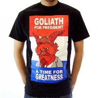 【SALE】ゴライアス ア タイム フォー グレイテス S/S Tシャツ ブラックGOLIATH A TIME FOR GREATNESS S/S TEE Black【あす楽対応_近畿】【あす楽対応...