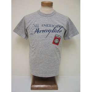 BuzzRickson's[バズリクソンズ] Tシャツ ALL AMERICAN PARAGLIDE (H.GRAY)