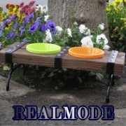 REALMODE STEELBELT Series ドッグベンチ dogbench450