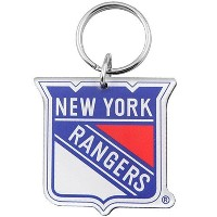 NHL チームロゴ アクリル キーチェーン レンジャーズ New York Rangers High Definition Keychain