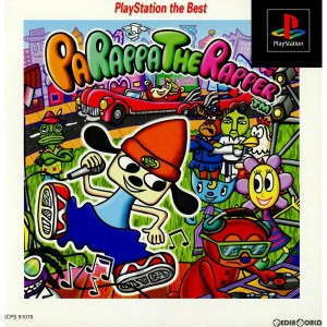 【中古】[表紙説明書なし][PS]パラッパラッパー(PaRappa the Rapper) PlayStation the Best(SCPS-91070)(19980709)【RCP】
